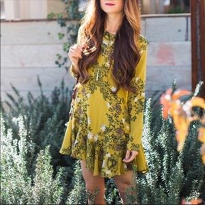 Free people sweet talker swing dress